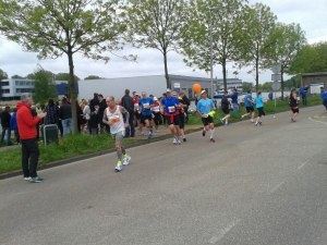 Klaas is de poton over op 11 km